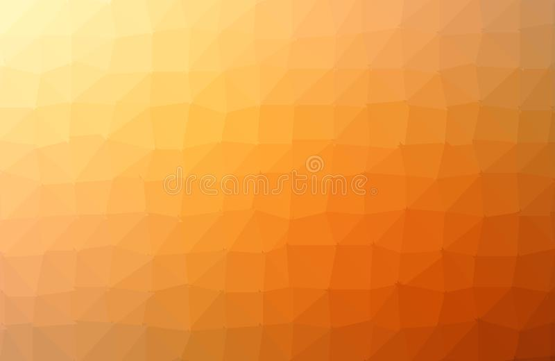 Abstract Orange polygon geometric background. Low Poly Style, Business Design Templates. Vector and illustration. Vector Modern Polygonal Background with royalty free illustration