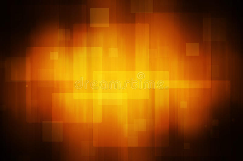 Abstract orange technology background. stock image