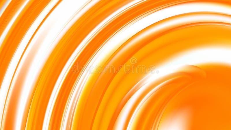 Abstract Orange and White  DesignBeautiful elegant Illustration graphic art design Background stock illustration