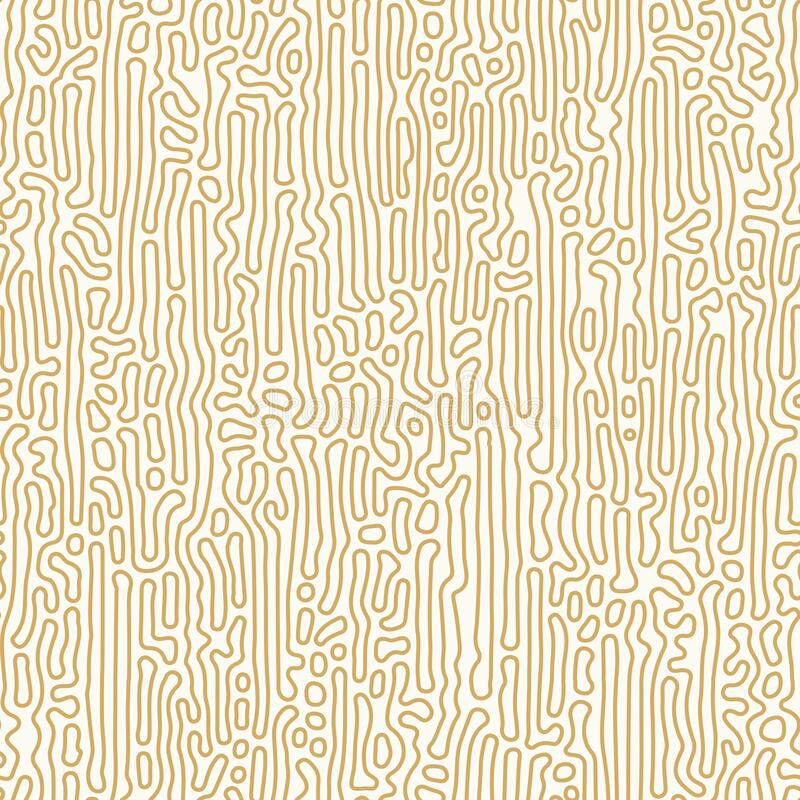 Free Abstract Organic Background, Natural Maze Labyrinth, Reaction Diffusion Pattern, Organic Shapes Seamless Vector Pattern Royalty Free Stock Photography - 193431027