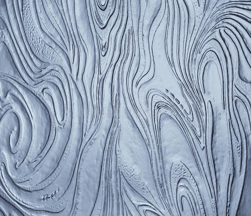 Abstract Organic Glass Texture stock image
