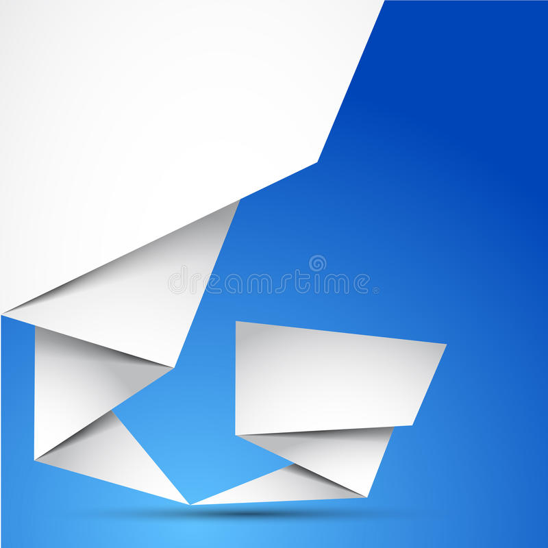 Abstract Origami Background Royalty Free Stock Image