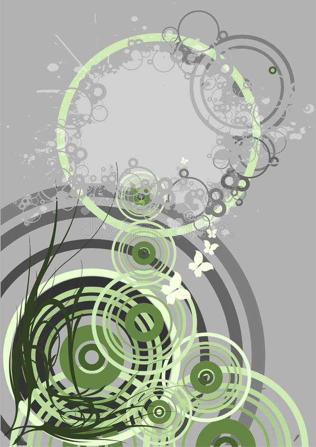 Abstract ornament royalty free illustration