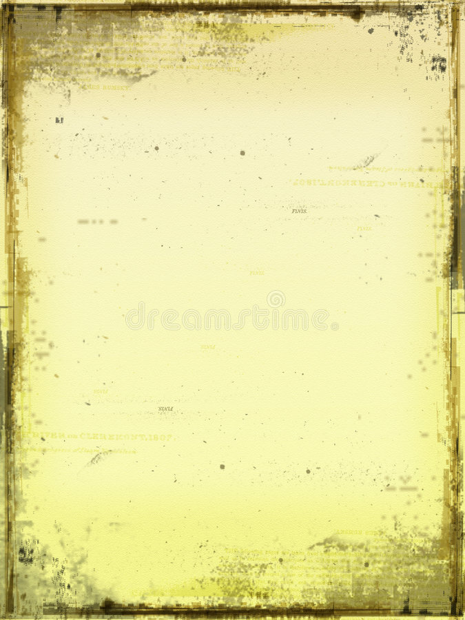 Abstract Oud Document Stock Afbeelding