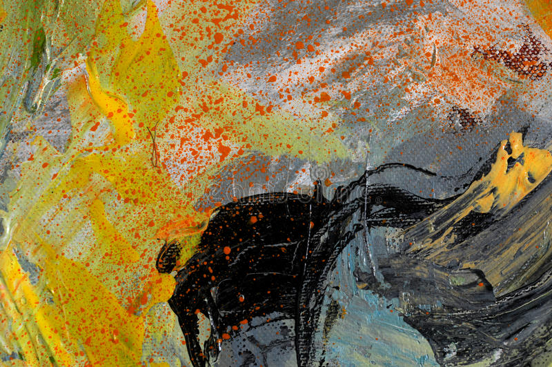 Abstract paing stock illustration
