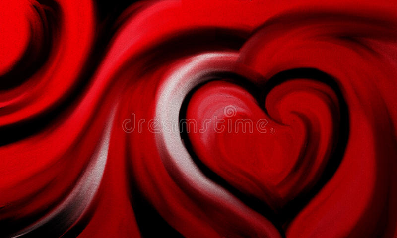 Download Abstract Painted Background Stock Photo - Image of artwork, heart: 18374950