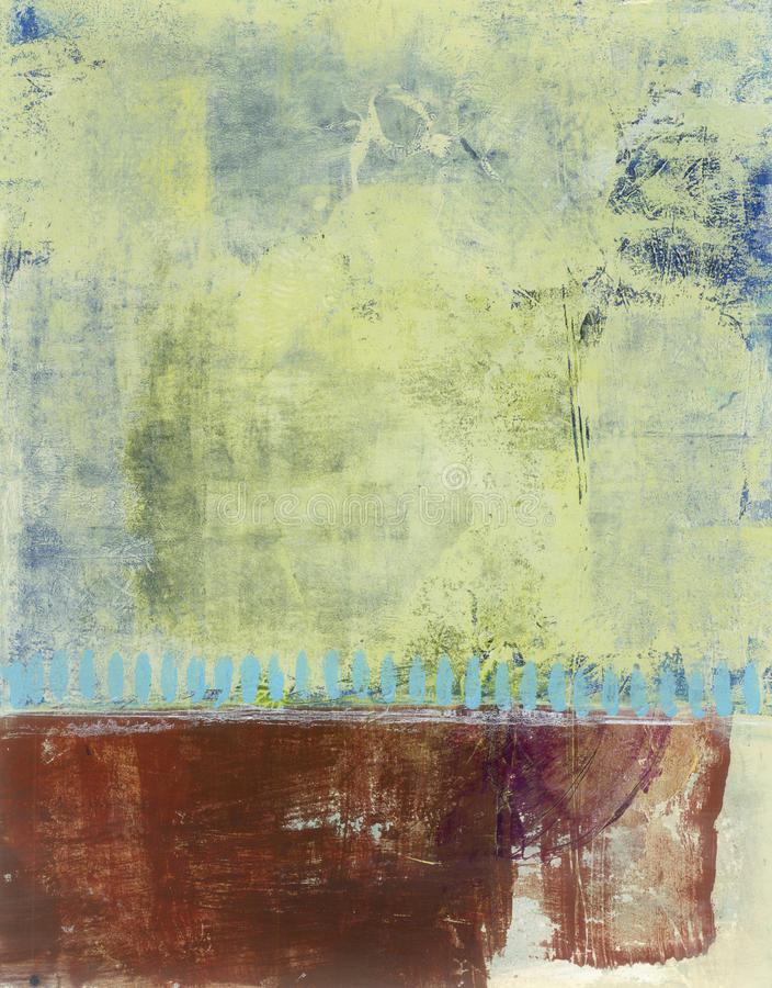 Download Abstract Painted Background Stock Illustration - Image: 18619356