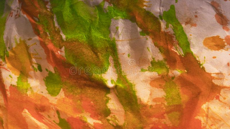 Abstract Painted background. Colorful Fluid effects. Grunge patches scattered on background. Good for :Wall Art, Cards, decor. Grungy artwork for creative stock photos