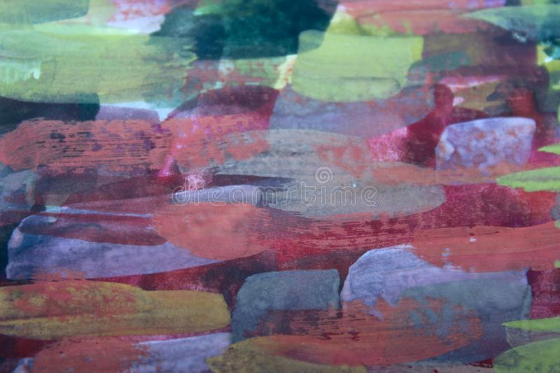 Abstract Painted Background Textures. Abstract Colorful Background. Colorful Wall Texture. Colorful Wallpaper royalty free stock photo