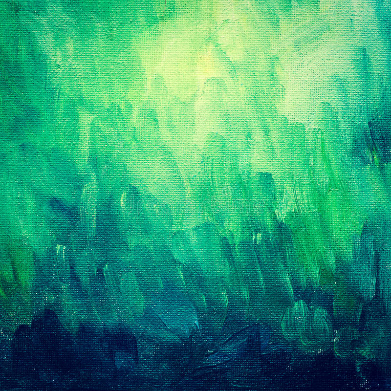 Abstract painted canvas. Texture background stock photo