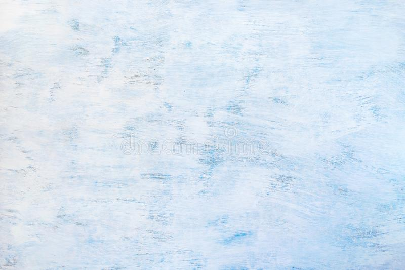 Abstract painted light blue background. Blue wooden texture. White color floor vintage weathered backdrop beautiful board construction copy space decor stock image