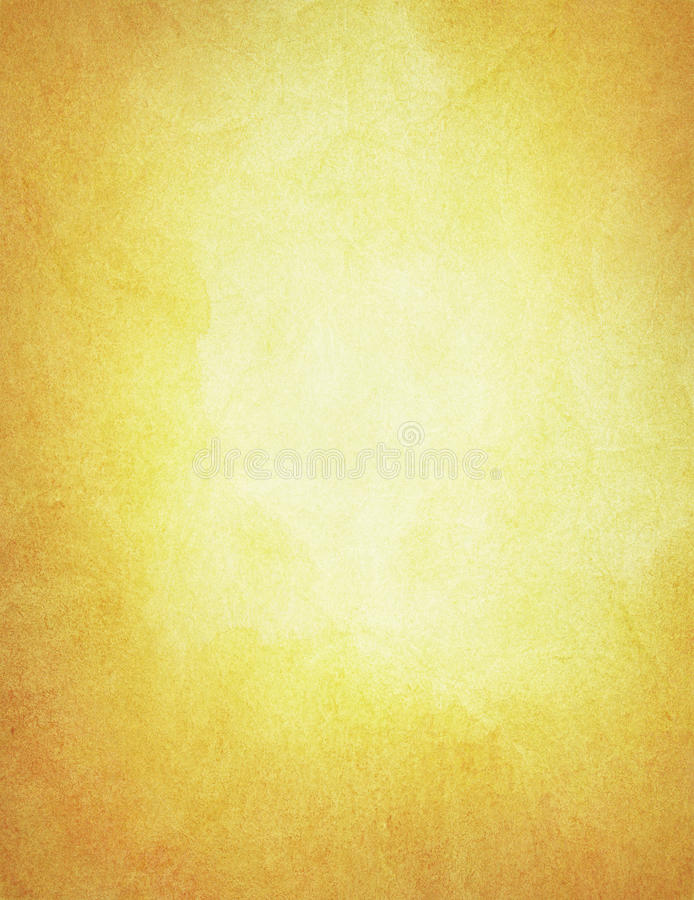 Abstract painted, orange watercolor background royalty free stock photography