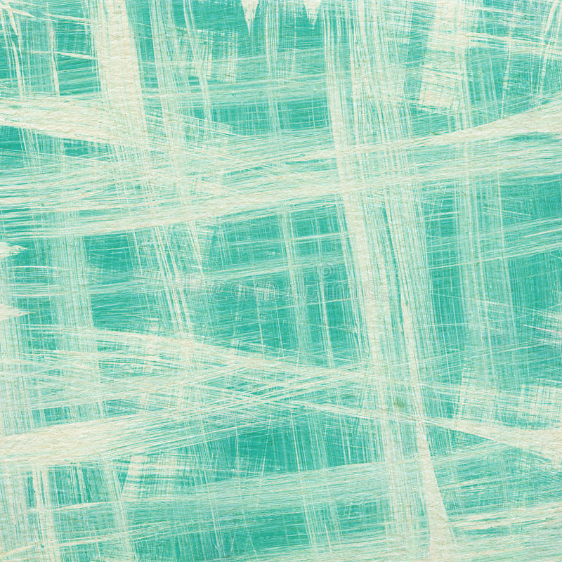 Abstract painted striped blue background stock images