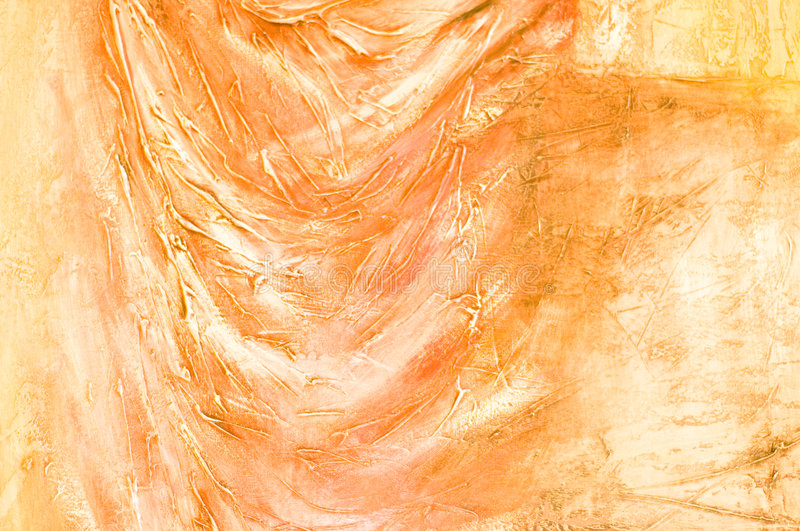 Abstract painted textured background. stock image