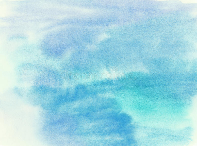 Abstract painted watercolor water, colorful spring stock images