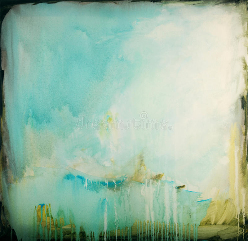 Free Abstract Painting Royalty Free Stock Images - 24331909