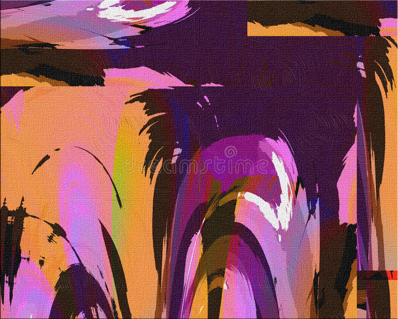 Abstract Painting vector illustration