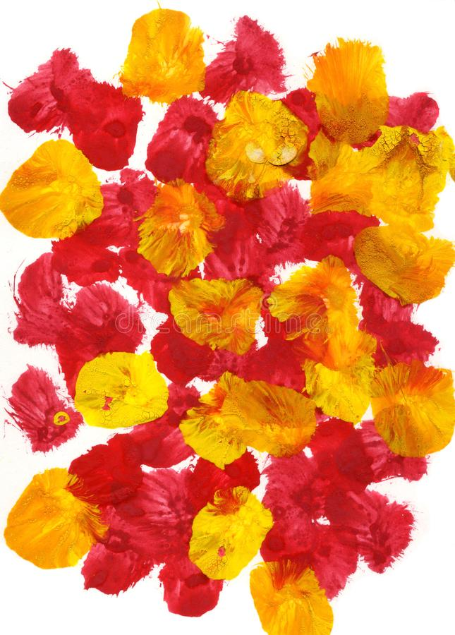 Free Abstract Painting Background Flower Bed Effects Royalty Free Stock Photos - 137396378