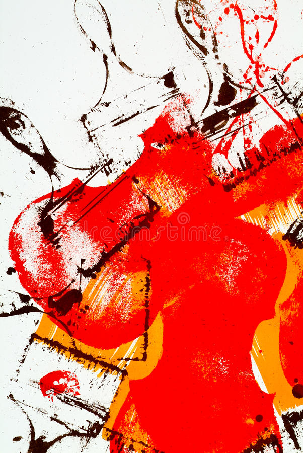 Abstract painting for background royalty free stock photography