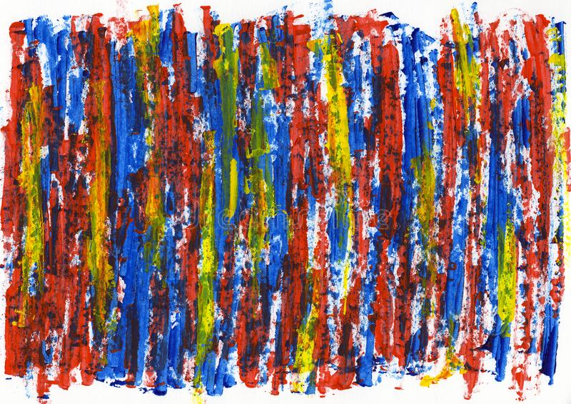 Abstract painting color texture, acrylic color background, knife. Texture, red, yellow, blue, green. Self made royalty free stock photos