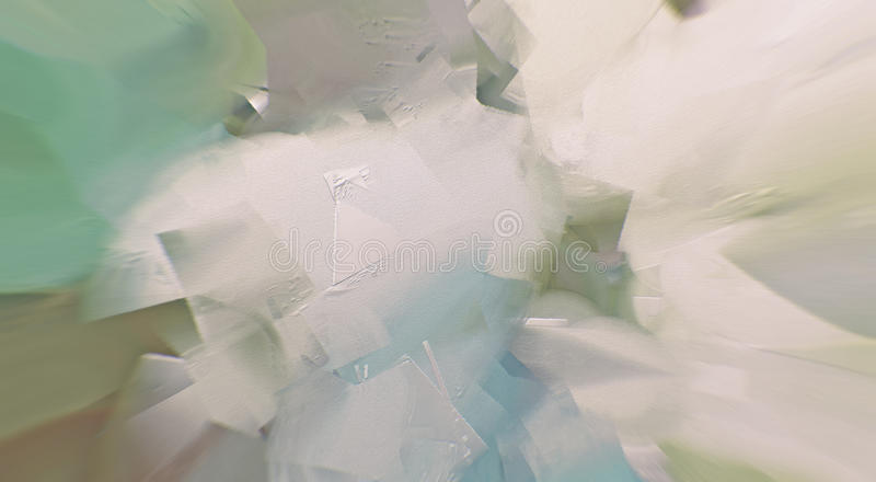 Abstract Painting. Knife and brush strokes stock images