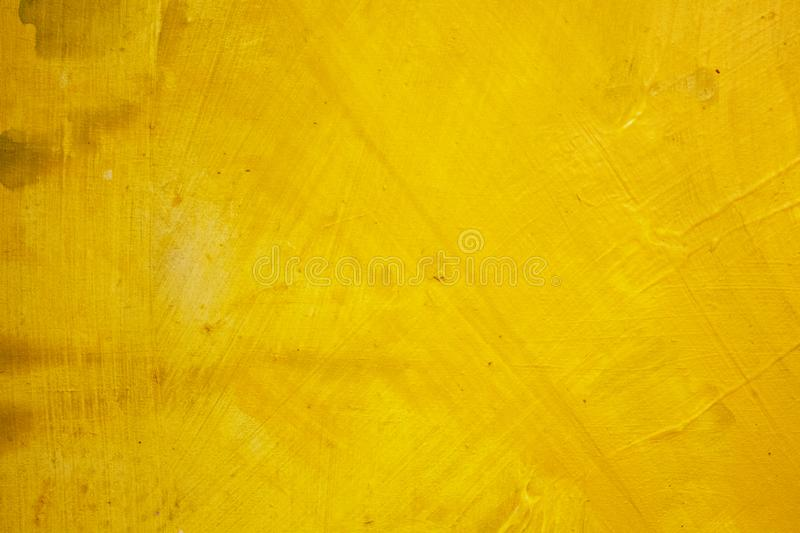 Abstract painting. Painting with oils on canvas for the background of a major stroke. Yellow ink. royalty free stock images