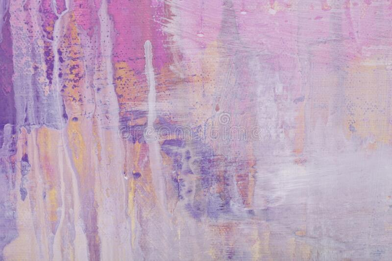 Abstract painting pink and puprle shades colorful texture stock images