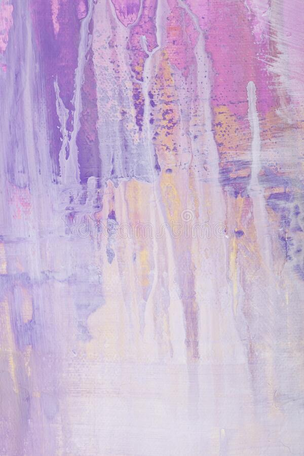 Abstract painting pink and puprle shades colorful texture stock photo