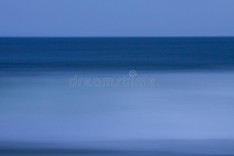 Abstract Pantone Classic Blue Waves stock photography