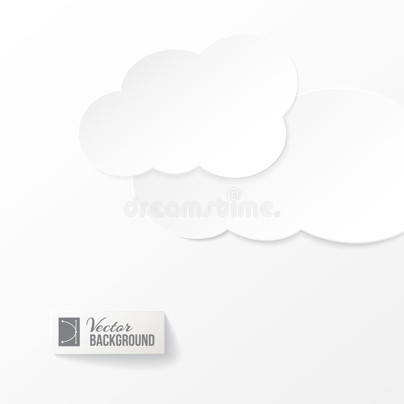 Download Abstract Paper Clouds Background Stock Vector - Illustration: 30748158