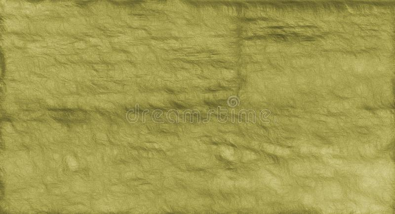 Abstract paper texture. Green old background. royalty free illustration