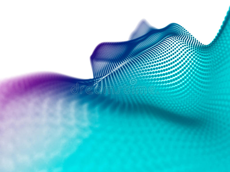 Abstract particles.Technology style. Blur abstract background. B stock photography