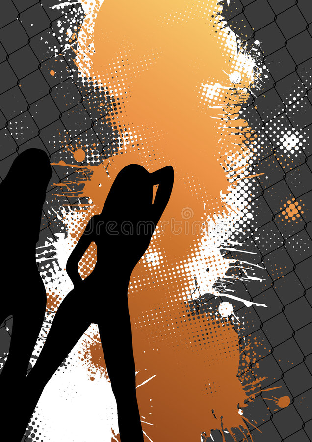 Abstract Party Background vector illustration