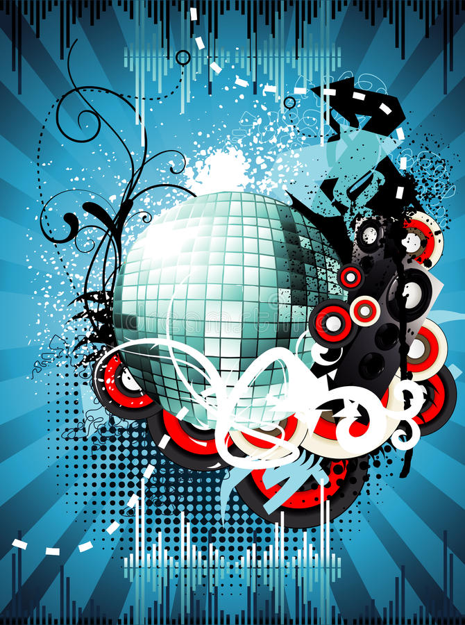 Download Abstract party color stock illustration. Image of composition - 18010530