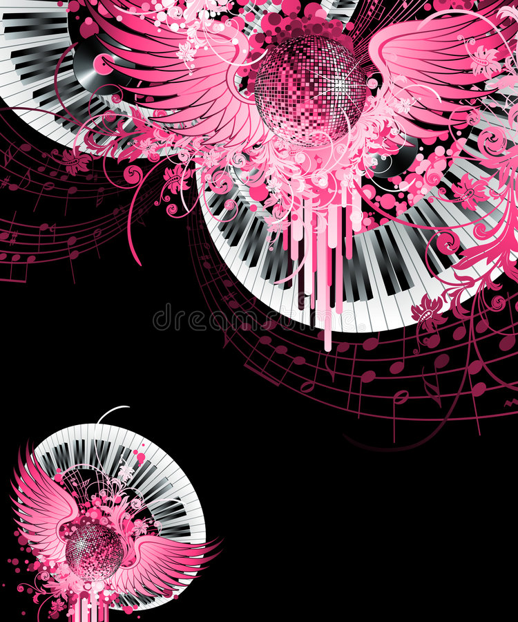 Abstract party design. stock illustration