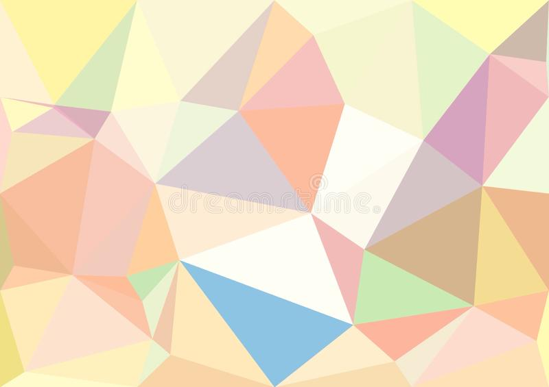 Download Abstract Pastel Color Low Poly Bokeh Wallpaper Stock Photo