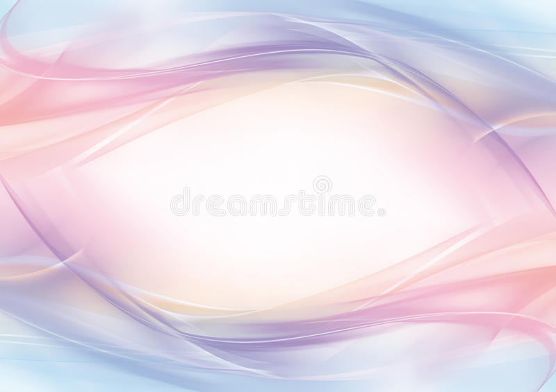 Abstract pastel eye-shaped background - frame royalty free stock images
