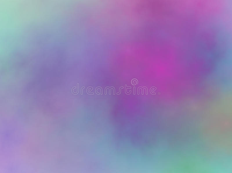 Abstract pastel pink purple blue green colors background texture stock illustration