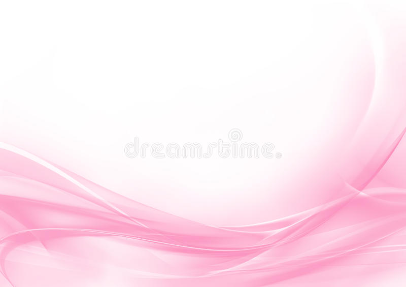 Abstract pastel pink and white background stock illustration