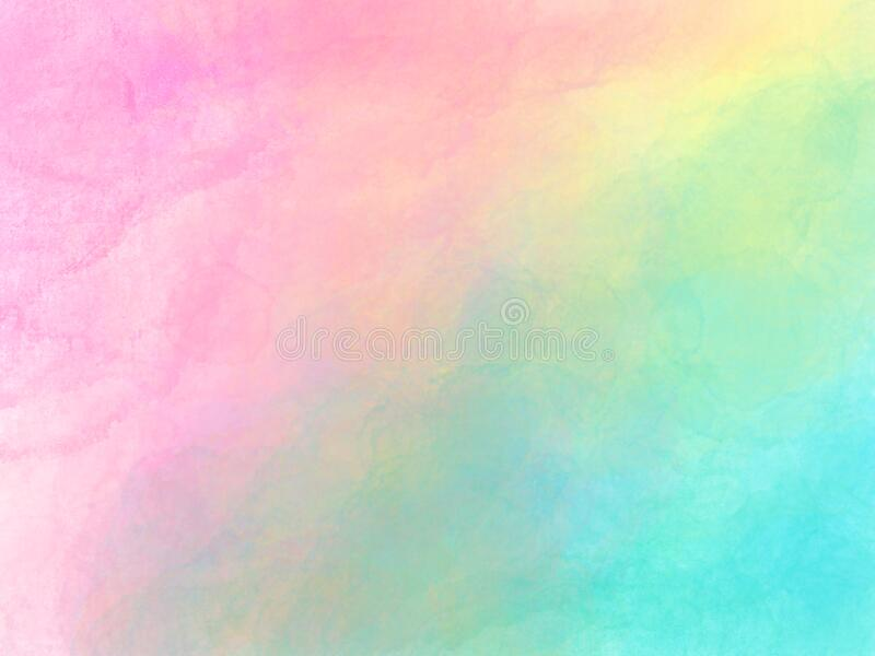 Soft Pink Powder Color Watercolor Background. Stock Vector ...