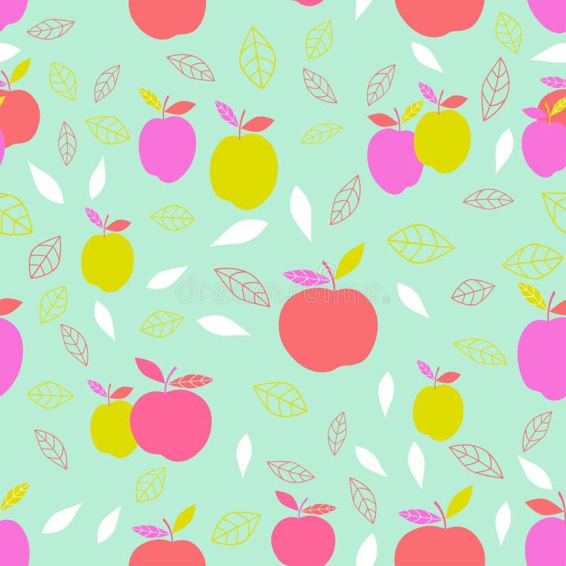 Download Abstract patroon met appel vector illustratie. Illustratie bestaande uit ontwerp - 114226166