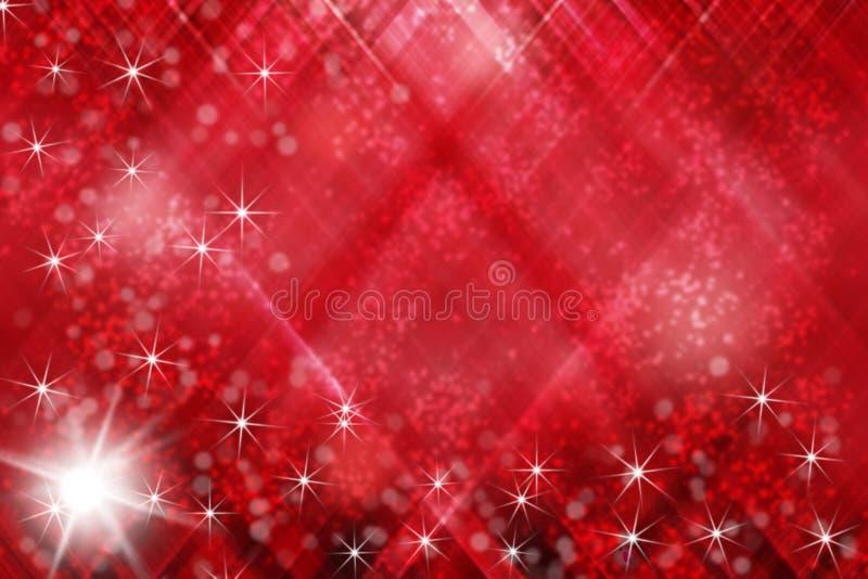 Abstract patroon met gradiënt rode wit en zwart royalty-vrije illustratie