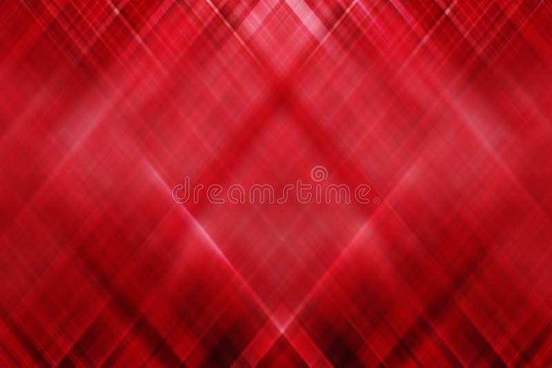 Abstract patroon met gradiënt rode wit en zwart stock illustratie