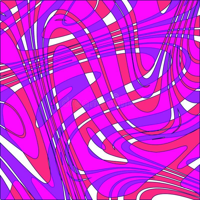 Abstract patroon Naadloze vectorachtergrond De textuur van neonkleuren royalty-vrije illustratie