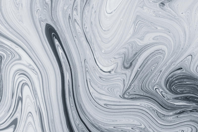 Abstract patroon, Traditioneel Ebru-art. De verf van de kleureninkt met golven Marmeren achtergrond stock afbeelding