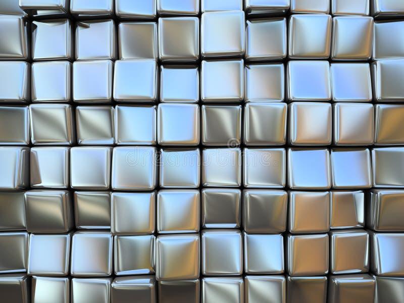 Abstract patroon van vierkant vector illustratie