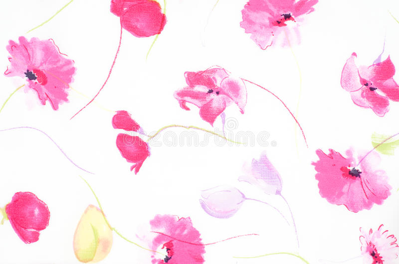Abstract pattern. With tiny flowers stock photo