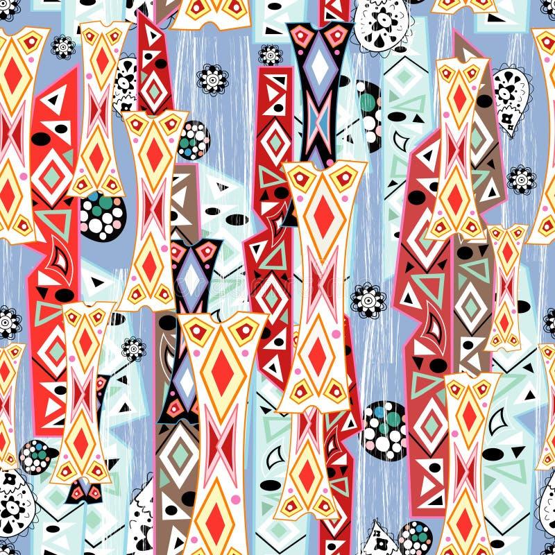 Abstract pattern stock illustration