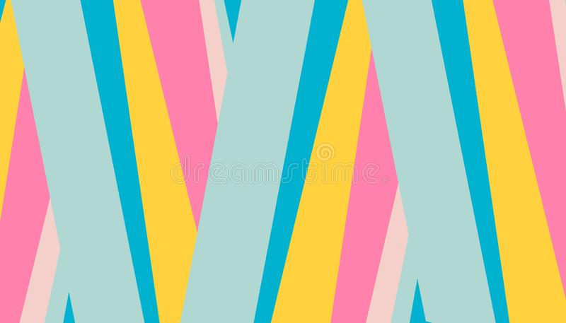 Abstract pattern bright colored stripes background for cover design. Vector design template for flyer, leaflet, magazine. A4, book cover. Summer creative vector illustration