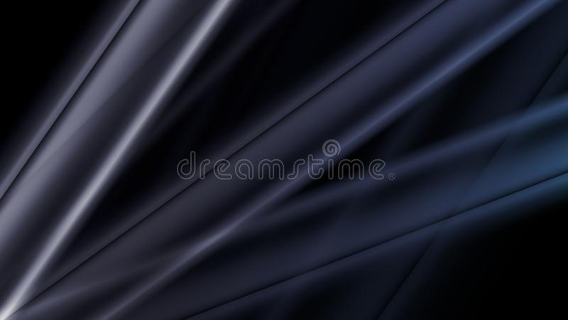 Abstract pattern the futuristic style on gradient blue. Wallpaper.n stock illustration